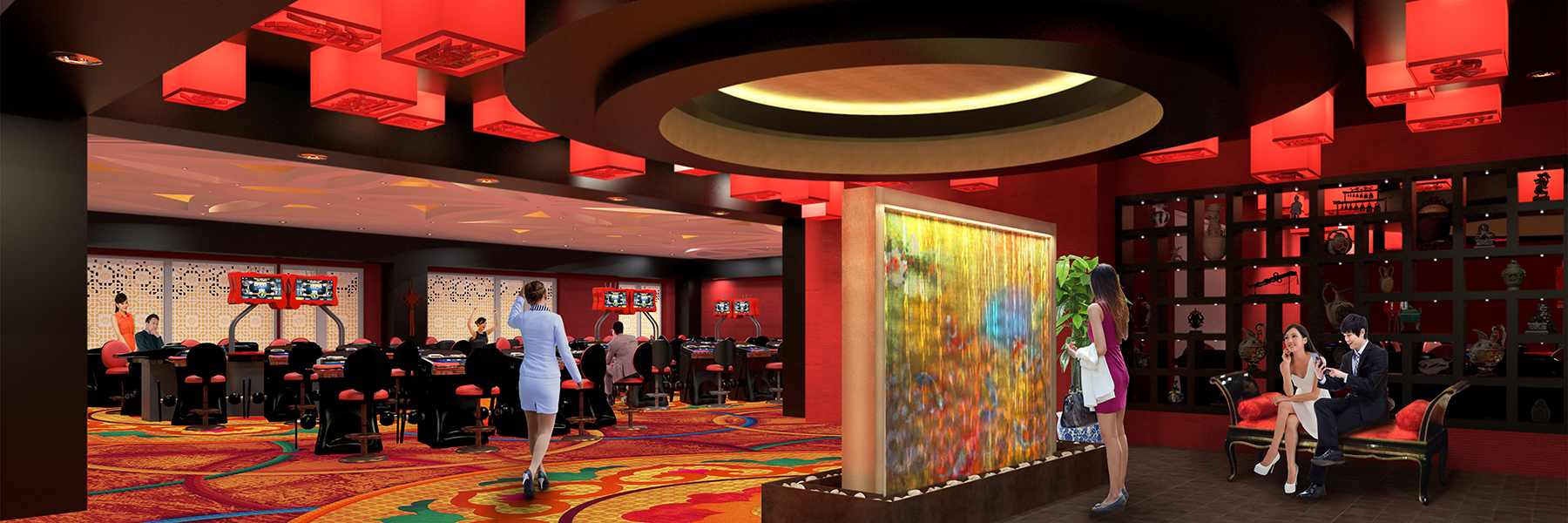 Resort's World Casino - Baccarat Club