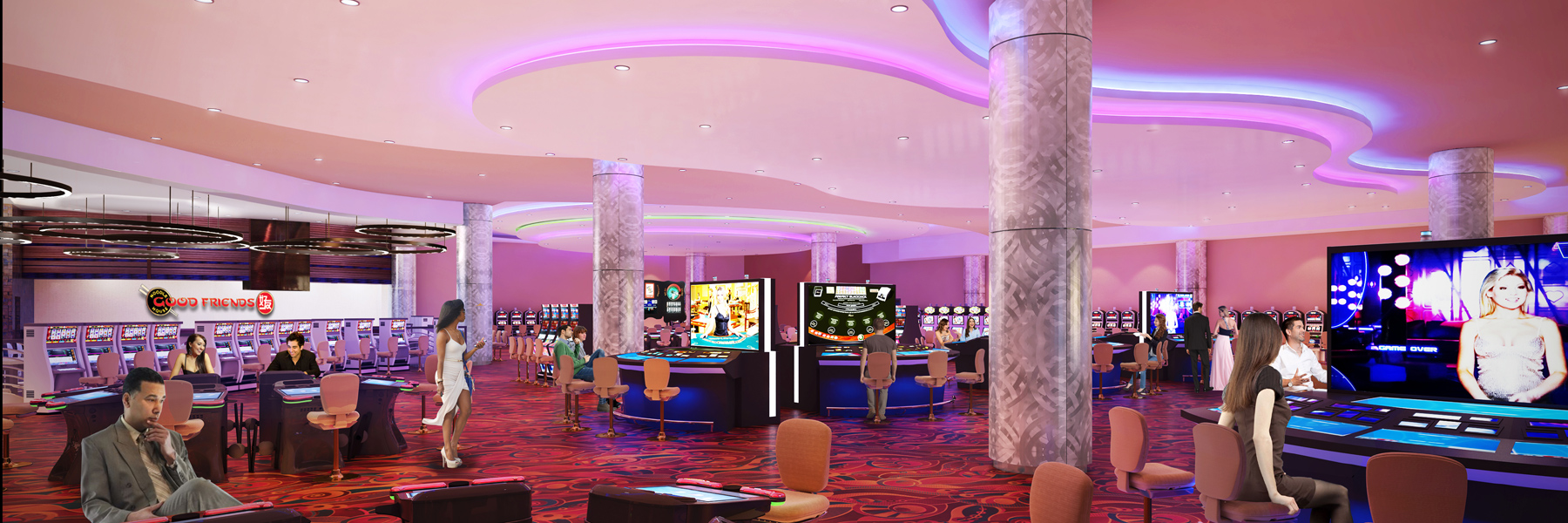 Resorts World Casino - 1st Floor